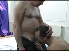 older father with
