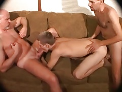 2 old DADS bare Tear up play furry Stud butt