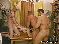 Crazy  Have A 4some With Bisex Studs