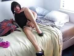 off  Nylons and Masturbating