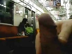 Another Public  in a Japanese Subway