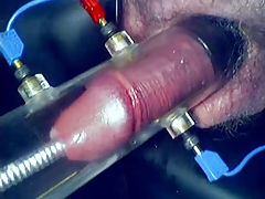 E-Stim With Sounding and Hard-on Pumping