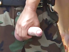 Army policeman penetrates youthful dude