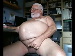 Massive  Grandpa  Off for the Camera