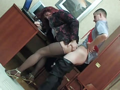 CD Pulverizes Her Chief In The Office