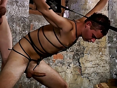 Domination & submission victim  bound up  snogged schwule jungs