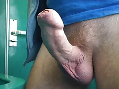 masturbate off in instruct toilet, part 1