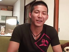 Asian sweetheart serviced by homosexual boys