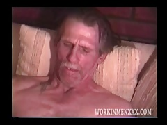 Mature Stud Snow Masturbates Off