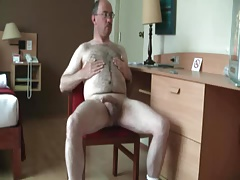parent hairy man  of and jizz