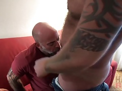 Viking and pierced  daddy