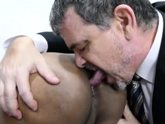 Parent and japanese lad Freddy have bang-out in conference apartment