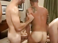 Wet gang session with