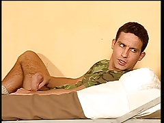 Queer men in the army ravaging donk
