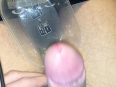 Numerous ejaculation  white pearly  Leigha from 1fuckdatecom