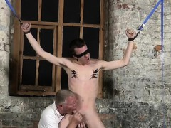 dvd and instrument restrain bondage fellatios gay With his mi