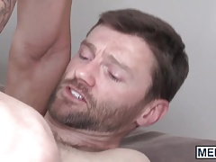 Stunning father Dennis West ravages Paul Canons anxious bootie