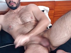 Hairy, beefy turkish man eager for  crevasses - Arab Faggot