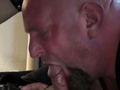 Cocksucked  butt tearing up plump bottom