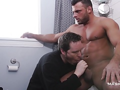 Maskurbate Str8 Roomy Agrees to be Queer Playtoy!