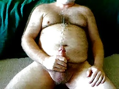 Wooly hunk milking off