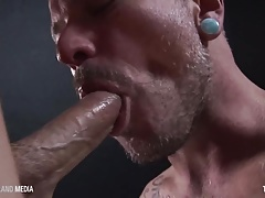 Pierced punks facefucking and jizm slurping