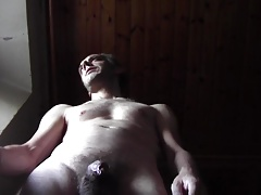 Warm DILF Fat Jizz WITH Naked Unshaved BODY, HOMEMADE Fledgling SOLO