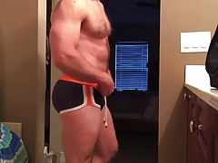 Silverdaddy drains and spunk in his