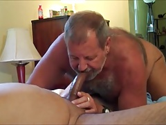 Dad hairy man bj's man sausage 2