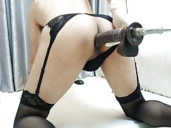 Plowing Machine  Asian Crossdresser Part1