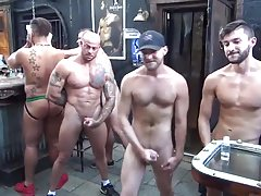 MusclePup Logan Moore Gets  Smashed & Barebacked Boink