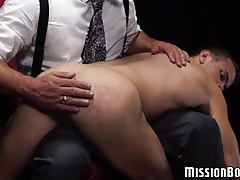 Super-fucking-hot and killer twink enjoys being smacked before faux-cock play