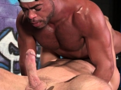 Giant pipe faggot oral sex and jizz flow