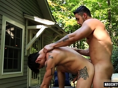 Mexican faggot ass fucking orgy and money-shot