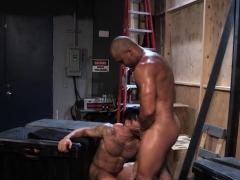Muscle wolf buttfuck lovemaking with facial cumshot spunk