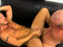 Cub ass fucking and youthful  finishes off in homosexual hump plaything Mischievous Office