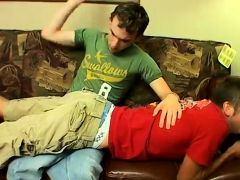 Queer stud youth slap naked bottom film and  diaper