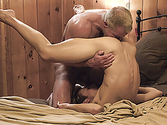 FamilyDick- Bulky Step-Grandpa Plows A Fellow Before Bedtime