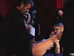 Bisexual adult strapon fucked added to fisted a adolescence cunt