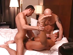 A  Fellow Getting His Man-Hole STRETCHED.
