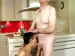 Old Fellow Fucked by Chinese Twink